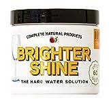 Brighter Shine - 60 Uses, Natural Lemon Dishwasher Additive & Citric Acid Cleaner, Hard Water Spots Remover