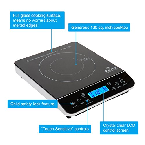 Induction Cooktop For Cast Iron