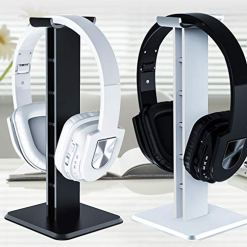 51rimR9diDL - Panamami Z1 Universal Headphone Stand Acrylic Headset Earphone Stand Holder Display for gaming headsets - Black