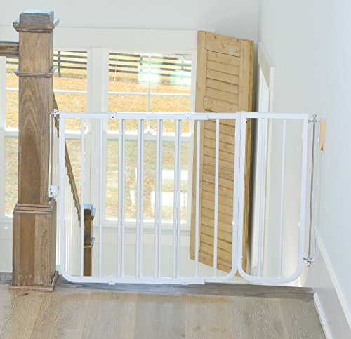 """Cardinal Gates 10.5"""" Extension for Stairway Special Gate and Auto Lock Gate, White"""