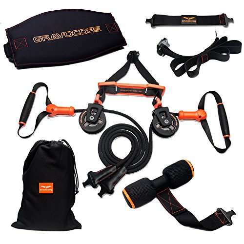 Gravocore Revolutionary Pulley Suspension Trainer Machine