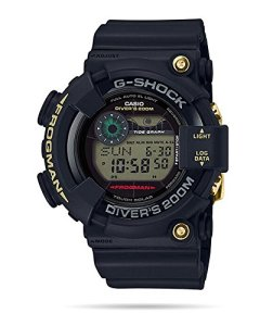 Casio G-Shock 35th Anniversary Frogman GF8235D-1B Black Gold Tough Solar Tide Watch GF-8235D-1B