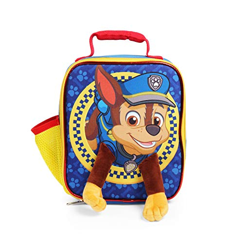 Paw Patrol Chase Lunch Bag with 3D Plush Legs