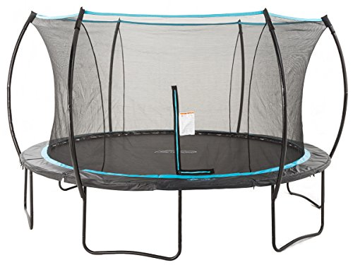 SkyBound Trampolines 14 Foot Cirrus Trampoline with Safety Net - ASTM Safety Certified - Built to Last - 2019 Updated Version