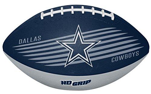 Rawlings NFL Dallas Cowboys 07731065111NFL Downfield Football (All Team Options), Blue, Youth