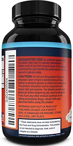 White Kidney Bean Supplement Pills Pure Extract Starch Carb Blocker Weight Loss Formula - Lose Belly Fat Suppress Appetite Boost Metabolism Natural Weight Loss for Men and Women by Phytoral 6