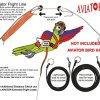 The AVIATOR Pet Bird Harness and Leash 6