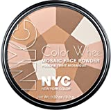New York Color Wheel Mosaic Face Powder, Translucent Highlighter Glow, 0.32 Ounce