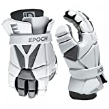Epoch Lacrosse iD High Perfomance, Lightweight, Flexible, Lacrosse Glove for Attack, Middie and Defensemen (Large)
