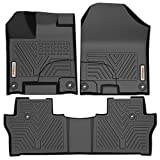 YITAMOTOR Floor Mats for Honda Pilot, Custom Fit Floor Liners for 2016-2019 Honda Pilot, 1st & 2nd Row All Weather Protection