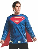 Rubie's Men's Batman v Superman: Dawn Of Justice Superman Costume Top