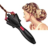 FIGHTART Hair Braider Quick Twist Automatic Smart DIY Magic Twister Hair Braiding Tool Roller Styling Styler Bun Maker (Not include the batteries)