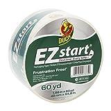 Duck Brand EZ Start Packaging Tape, 1.88-Inch x 60-Yard Roll, 3-Inch Core, Single Roll, Clear (299002)
