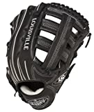 Louisville Slugger 12.75-Inch FG Pro Flare Baseball Outfielders Gloves, Black, Left Hand Throw