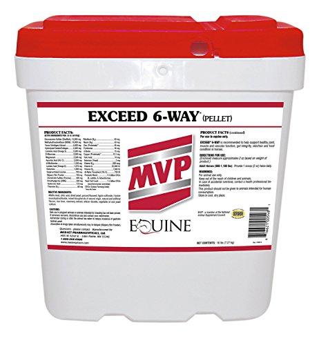 Med-Vet Exceed 6-Way Pellets 16lb 1