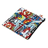 Bumkins - DC Comics Snack Bag Bundle - 1 Large & 2 Small - Superman