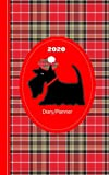 Scottish Tartan Terrier Dog: Diary Weekly January to December (Planners One Year 2020)
