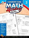 Common Core Math 4 Today, Grade 3: Daily Skill Practice (Common Core 4 Today)