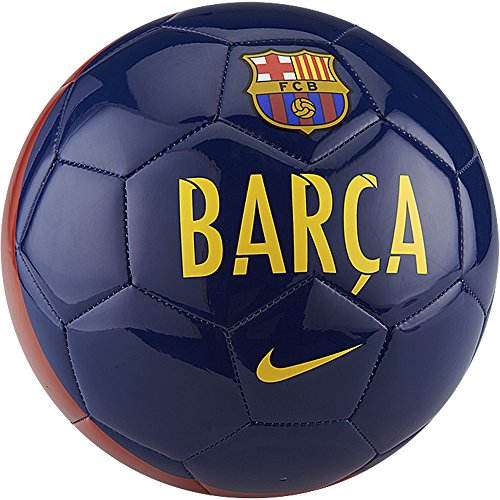 Nike Barcelona Supporters Soccer Ball (Sz. 4) Loyal Blue