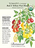 Red & Yellow Pear Blend Tomato - 30 Seeds - Organic - Botanical Interests