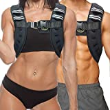 TNT Pro Series Iron Weighted Vest for Men and Women - Evenly Distributed Iron Filled Light Weight Vest for Maximum Performance and Comfort - 11 lbs ...