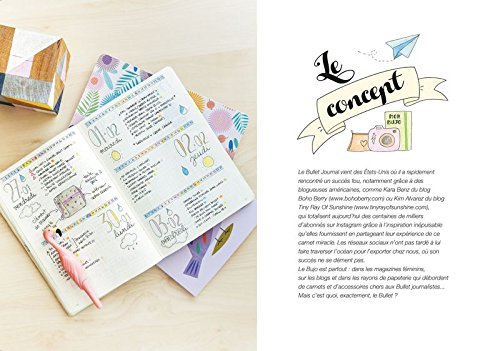Livre pour Bullet journal   Petit guide pour Grand bullet - Creabujo b430a0edd91a