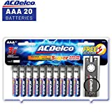ACDelco AAA Batteries, Alkaline Battery, 20 Count
