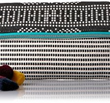51seQhpVrgL Material: This cash clutch bag is made of alloy, rhinestone are set on the outside of the bag. Various colors of rhinestone will get eyes-catching. Unique Pattern: Our dollar handbag is designed by 100 dollar pattern, and rectangle shape is different from casual bag. Pearl strap is easily for match with your daily outfit, especially join the evening party. Two Strap: One chain strap & One pearl chain strap. Removable design is convenient to take on / off, make two style of wearing ways, you can used as a crossbody, clutch purse or tote bag.