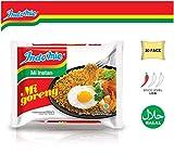 Indomie Mi Goreng Instant Stir Fry Noodles, Halal Certified, Original Flavor,30 Count