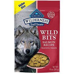 Blue Buffalo Wilderness Trail Treats Wild Bits Grain Free Soft-Moist Training Dog Treats 18
