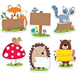 "Creative Teaching Press Incentives, Wall Décor Woodland Friends Cut Outs, 6"", CT 6099"