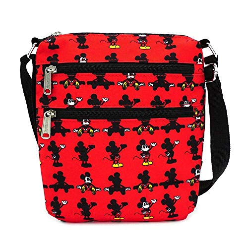 Loungefly-x-Disney-Mickey-Mouse-Parts-Allover-Print-Nylon-Passport-Bag-Red-One-Size