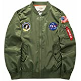Product review for sandbank Men's USA Flag Lightweight MA-1 Flight Bomber Jacket Windbreaker