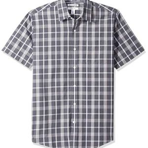 Amazon Brand - BUTTONED DOWN Men's Classic Fit Gingham Non-Iron Dress Shirt 13 Fashion Online Shop gifts for her gifts for him womens full figure