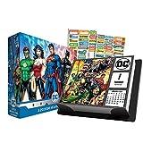 DC Comics 2019 Calendar, Box Edition Set - Deluxe 2019 DC Comics Day-at-a-Time Calendar with Over 100 Calendar Stickers (DC Comics Gifts, Office Supplies)