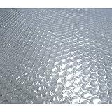 Blue Wave NS515 14-mil Solar Blanket, 14' W x 28' L x 0.5' H Clear