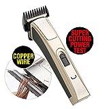 KIKI NEW GAIN Professional Cordless Rechargeable Hair Clippers Super Cutting Power Crew Cut Hair...