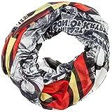 DC's Superman Full Print Comic Design & Logo Soft Polyester Infinity Scarf NWT