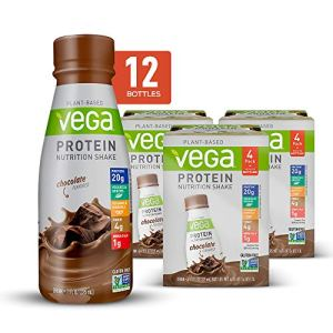 Vega Protein Shakes Ready to Drink, Chocolate - Plant Based Vegan Nutrition Shake with Veggies, Greens, Vitamins… 4