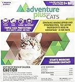 Adventure Plus for Cats  4pk 9lb+