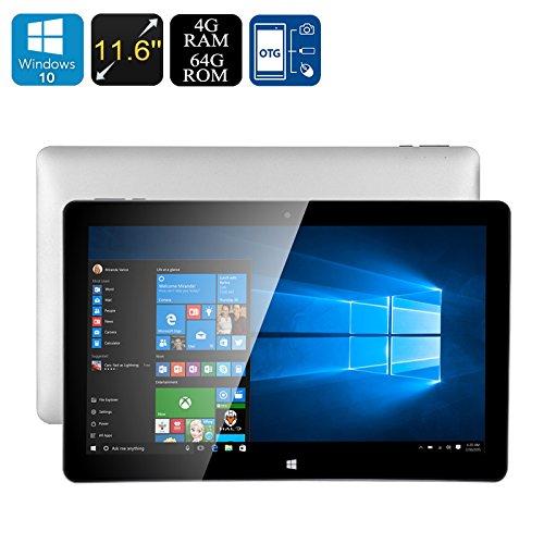 Jumper EZpad 6 Tablet PC - Licensed Windows 10, 4GB RAM, Intel Cherry Trail CPU, 11.6-Inch Screen, OTG