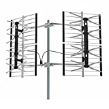 STELLAR LABS 30-2431 HDTV 80 Mile Deep Fringe Bowtie Television Antenna