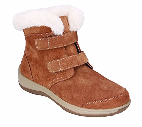 Orthofeet Most Comfortable Plantar Fasciitis Florence Diabetic Orthopedic Women's Boots for Flat Feet