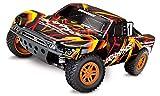 Traxxas Slash 4X4 1/10 Scale 4X4 Short Course Truck, Orange