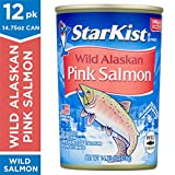 StarKist Wild Alaskan Pink Salmon -Reduced Sodium - 14.75 oz Can (Pack of 12)