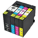 ESTON 4PK PGI-2200XL Compatible Pigment Ink Cartridges For MAXIFY IB4020 MB5020 MB5320