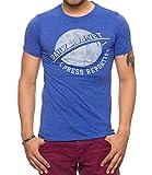 J.O.A.T Men's Daily Planet T-Shirt, Royal Heather, M
