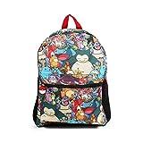 Pokemon All Over Print Multi Character 16' Backpack School Bag