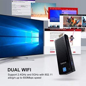 Terryza-Fanless-Mini-PCIntel-Atom-Z8350-Computer-Stick-Windows-10-Pro-64-Bit4GB-DDR-64GB-eMMC4k-HDBluetooth-42Dual-Band-WiFi-AC