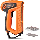 VonHaus 18-Gauge 2 In 1 Electric Brad Nailer and Stapler Gun Kit - Includes 400 Crown Staples and 100 Nails Suitable For Fabrics, Upholstery and Cardboard